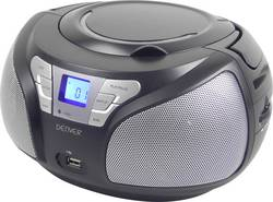 FM CD-radio Denver TCU-206 AUX, CD, FM, USB Sort