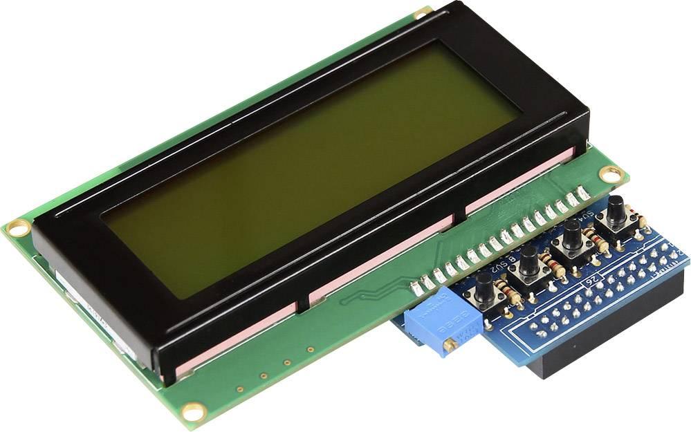 Raspberry Pi® display unit Black Raspberry Pi® A, B, B+, Raspberry Pi®
