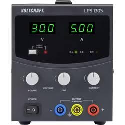 Laboratoriestrømforsyning, indstillelig VOLTCRAFT LPS1305 0 - 30 V/DC 0 - 5 A 150 W Antal udgange 1 x