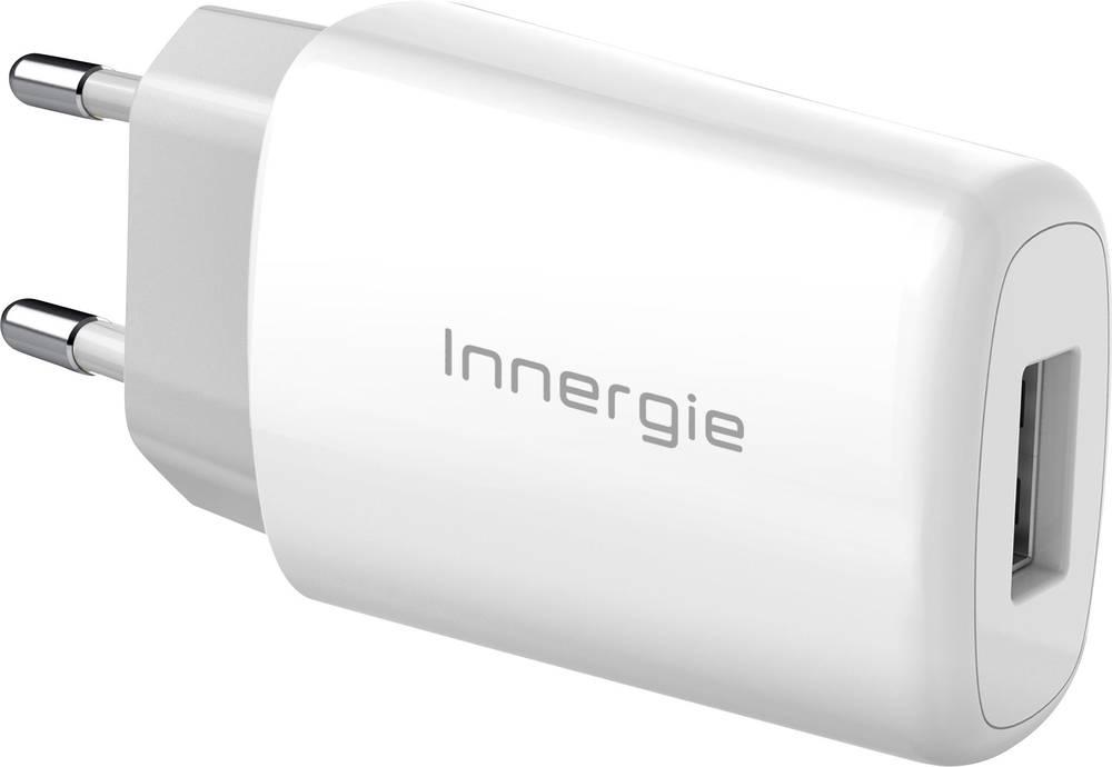 USB-oplader Innergie ADP-10LW RA ADP-10LW RA Stikdåse Udgangsstrøm max. 2100 mA 1 x USB
