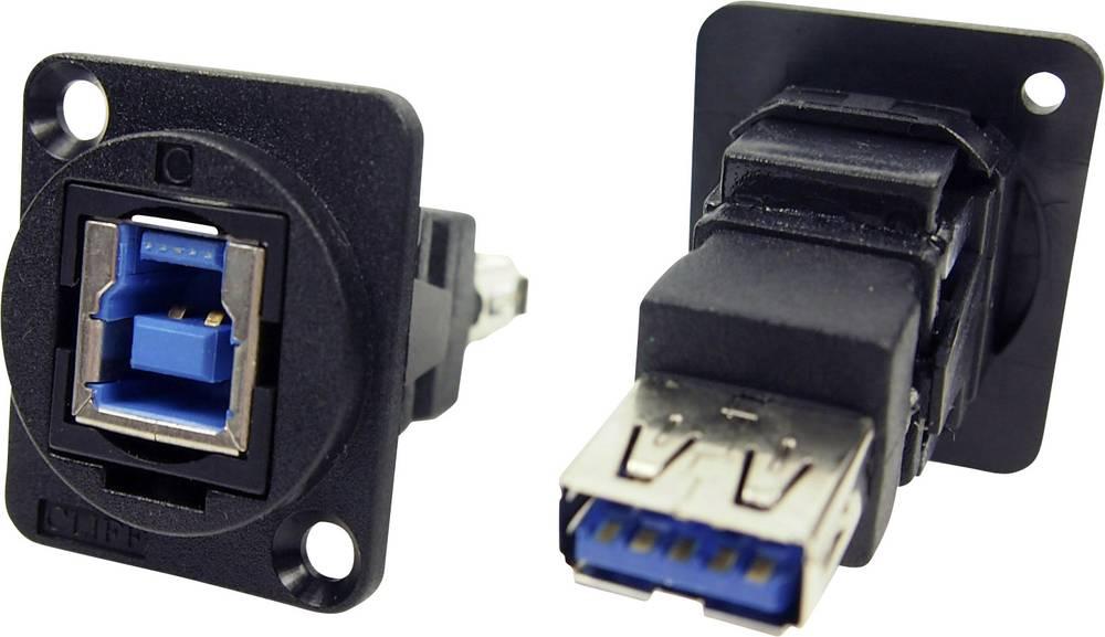 Cliff CP30206N USB 3.0 hunstik B Sort 1 stk
