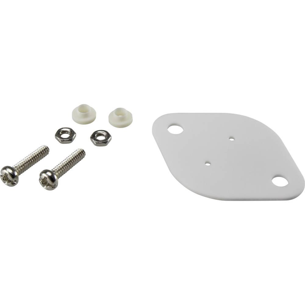 Komplet montažnega materiala za polprevodnike (D x Š) 42 mm x 30 mm primeren za TO-3 TRU Components TC-A18-10B 1 set