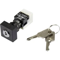 Nøglekontakt 250 V/AC 5 A 1 x Off/On 1 x 90 ° DECA ADA16K6-AA 0-DC IP65 1 stk