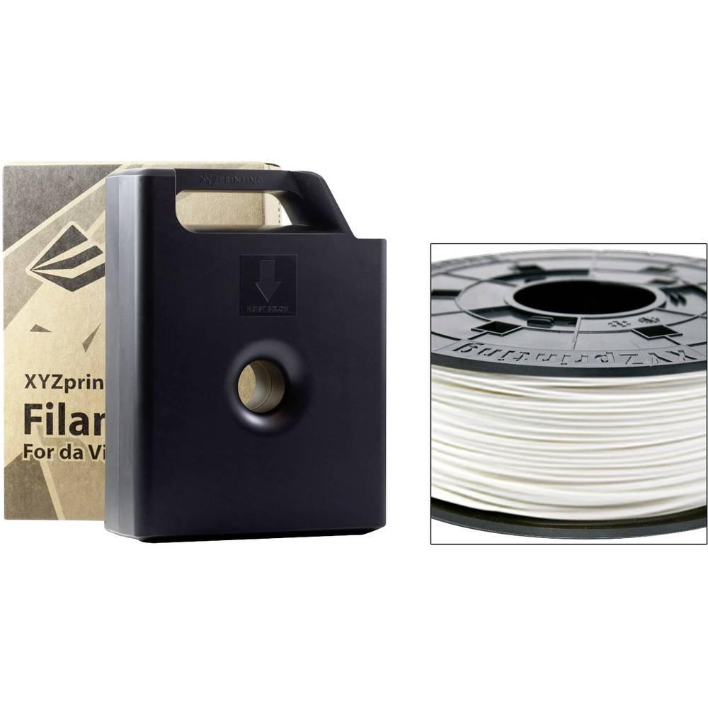Filament XYZprinting ABS 1.75 mm snežno bele barve 600 g kartuša