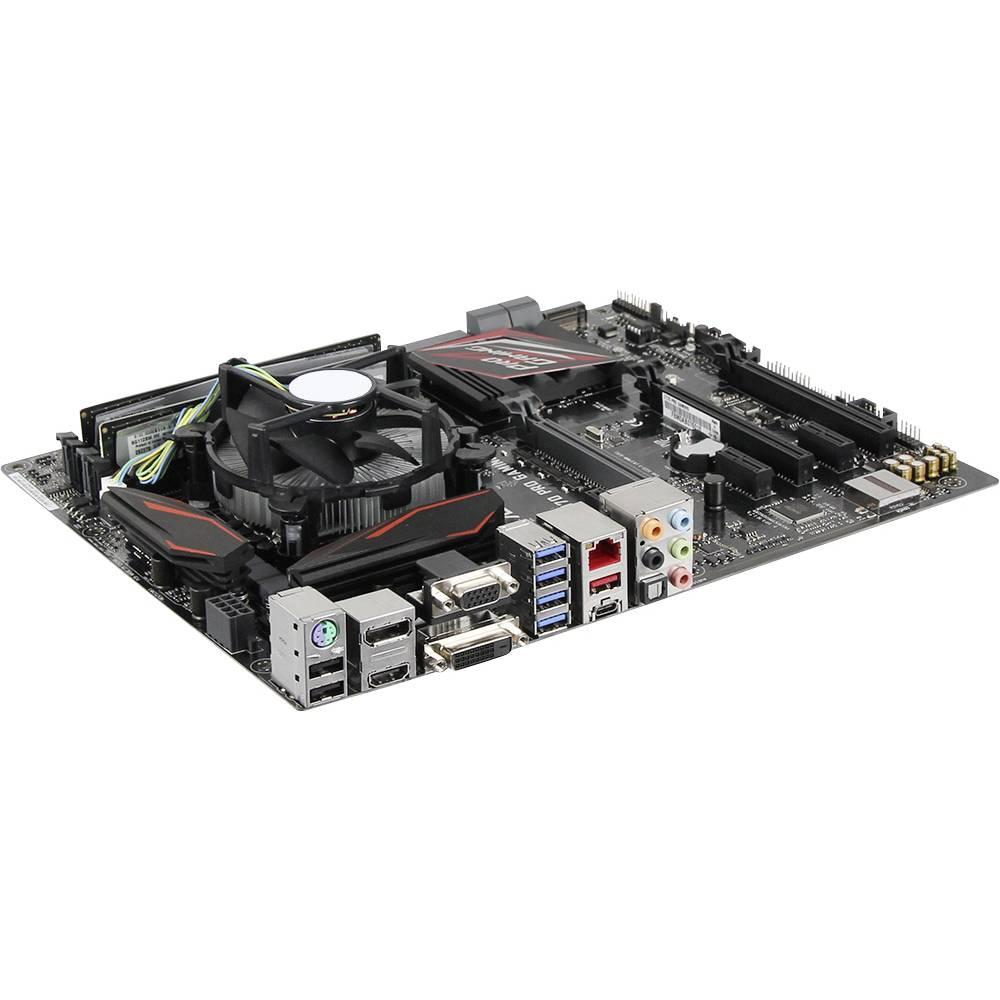 Pc Tuin Kit Games Intel Core I5 6600k 4 X 35 Ghz 16 Gb Processor Box Socket 1151