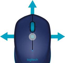 Logitech M535 Bluetooth mouse Laser Blue