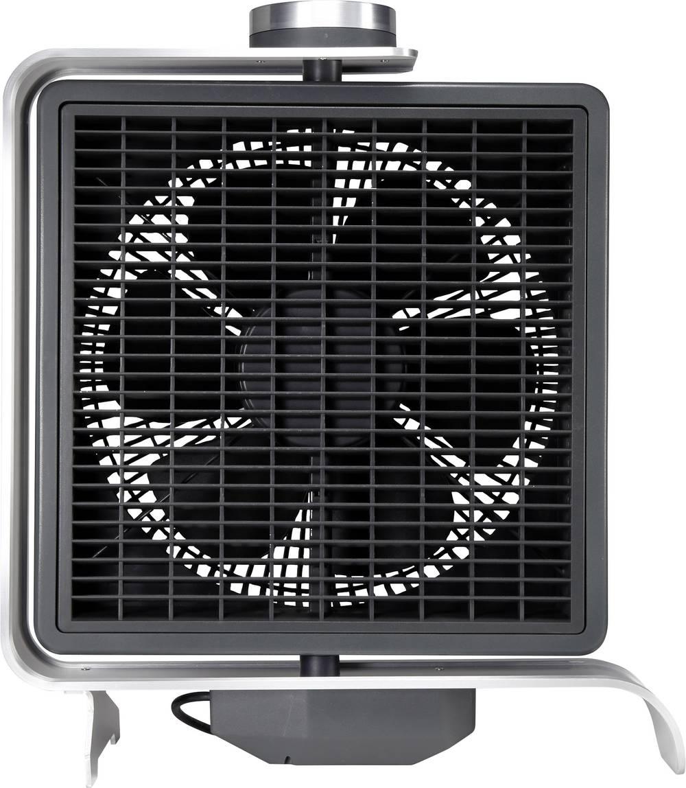 Namizni ventilator Sygonix FN2110 50 W črna, srebrna