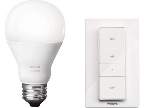 Philips Lighting Hue 8718696452523 Dimmerset Energielabel: A+ (A++ - E) Wireless dimming kit E27 Warmwit