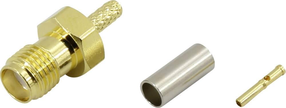 SMA-stikforbindelse Conrad Components 93038c5 50 Ohm Tilslutning, lige 1 stk