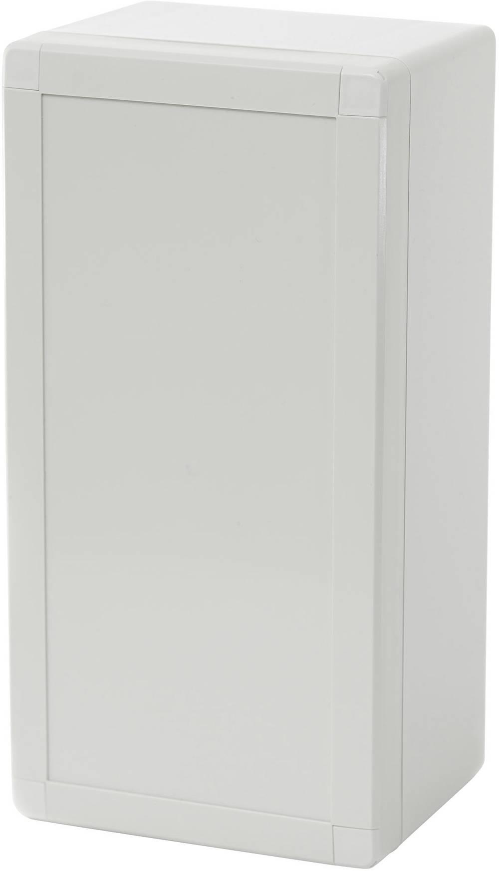 Kabinet til montering på væggen, Installationskabinet Fibox EURONORD 3 PCQ3 122410 244 x 124 x 102 Polycarbonat 1 stk