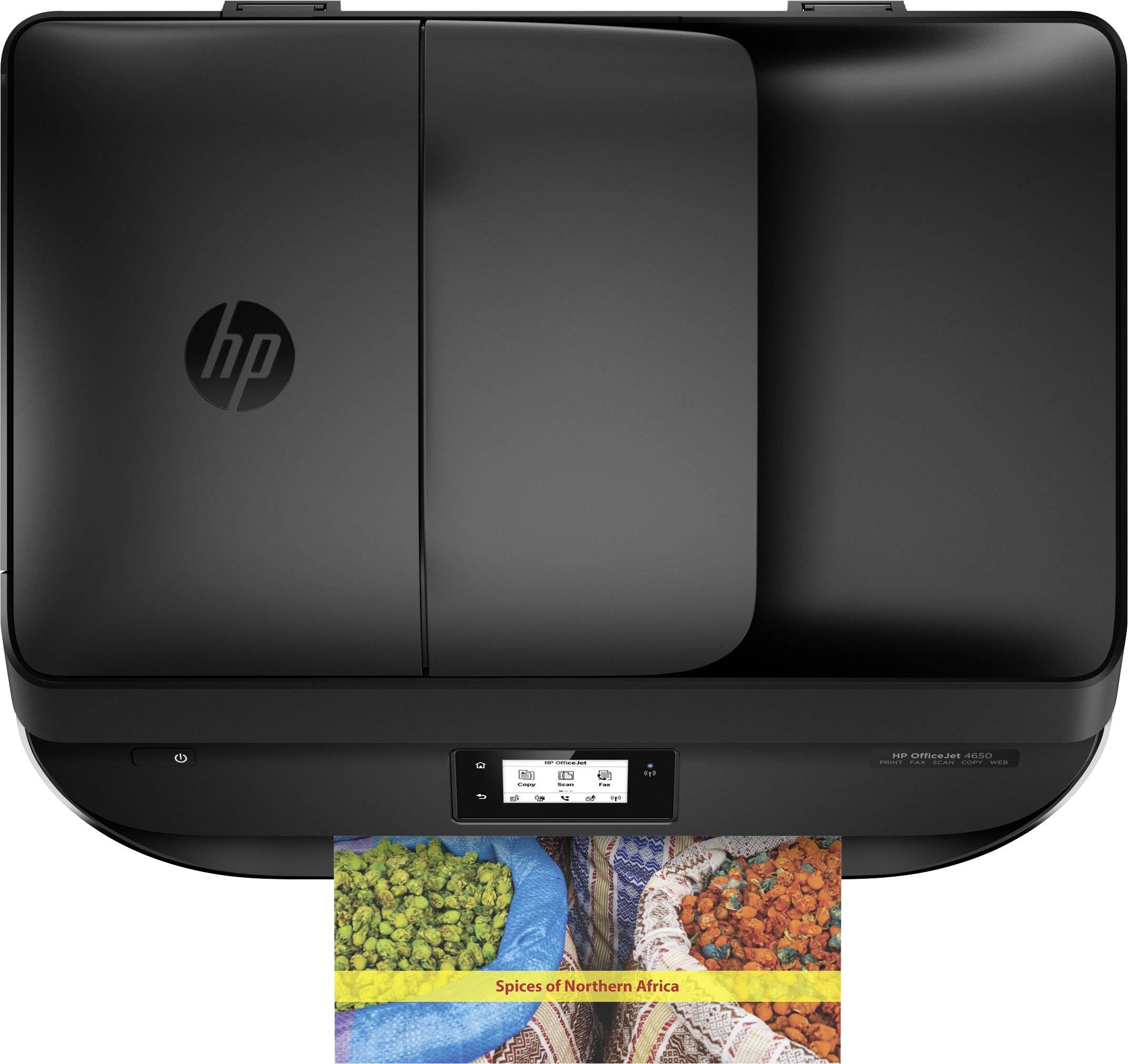 HP OfficeJet 4650 All-in-One Inkjet multifunction printer A4 Printer