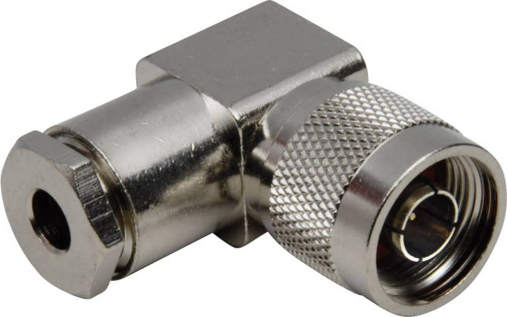 N-stikforbindelse BKL Electronic 0404011 50 Ohm Stik, vinklet 1 stk
