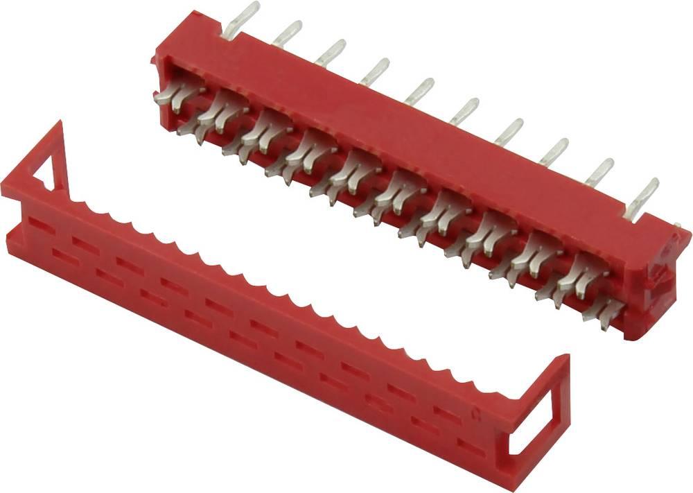 Ohišje vtiča za tiskano vezje, skupno št. polov: 18 Connfly razporeditev kontaktov: 1.27 mm 1 kos