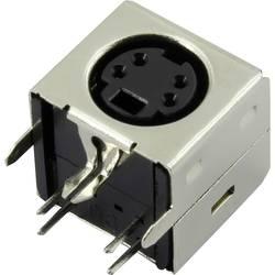 Mini-DIN vgradna vtičnica, št. polov: 6 Connfly vsebina: 1 kos