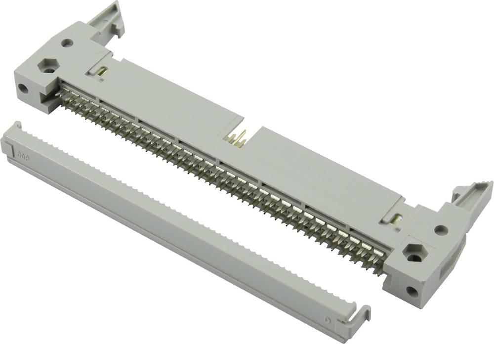 Pole-stikforbindelse med langt udløsergreb, med trækaflastning Rastermål: 2.54 mm Samlet antal poler: 40 Connfly 1 stk