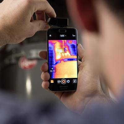 Seek Thermal Compact Android IR camera -40 up to +330 °C 206 x 156 pix 9 Hz