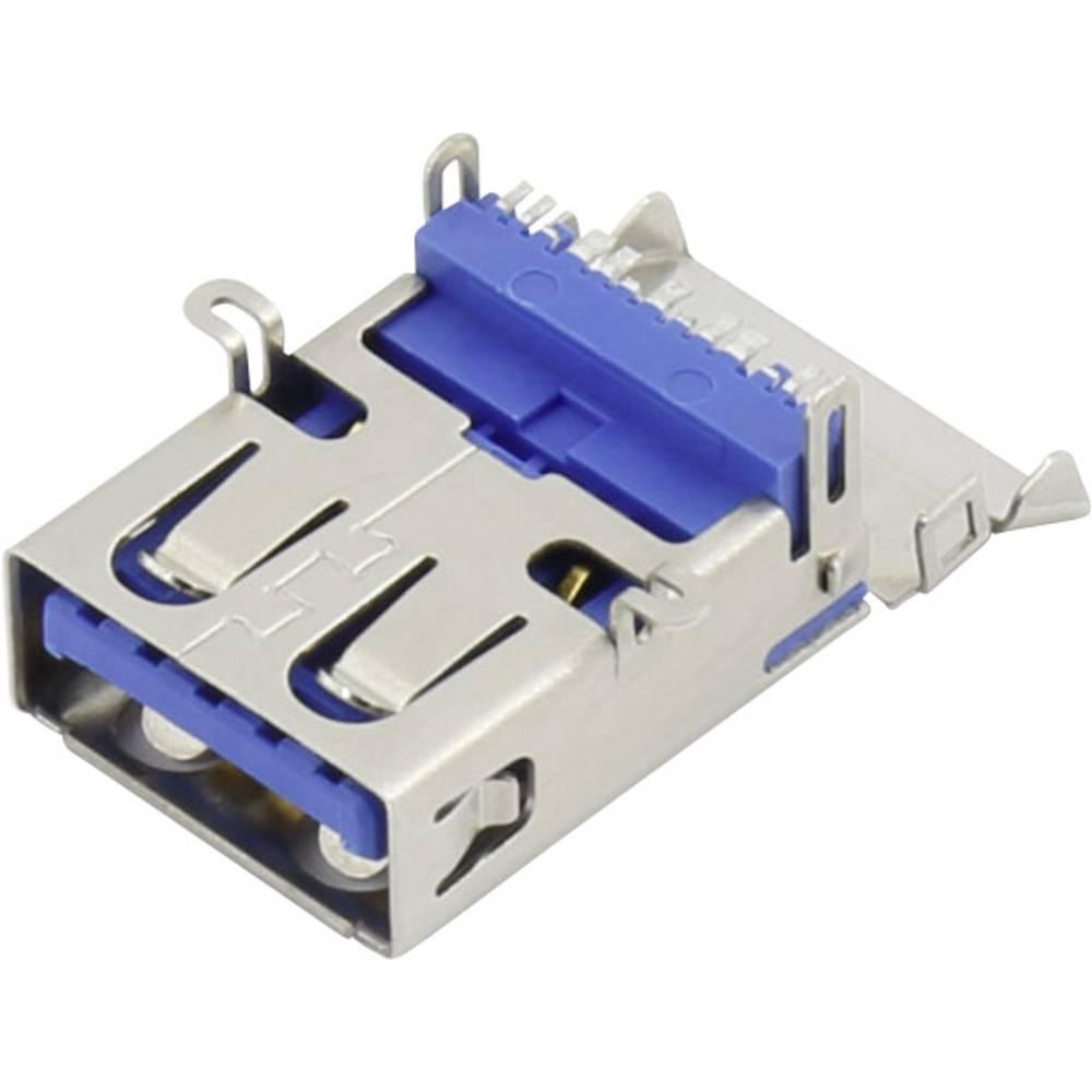USB A vtičnica 3.1 vtičnica, ravna, 93013c1136 vsebina: 1 kos