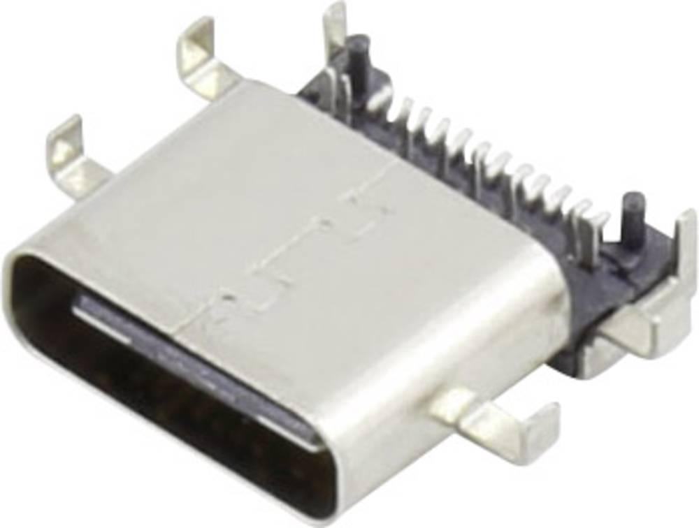 USB C vtičnica 3.1 vtičnica, ravna, 93013c1138 vsebina: 1 kos