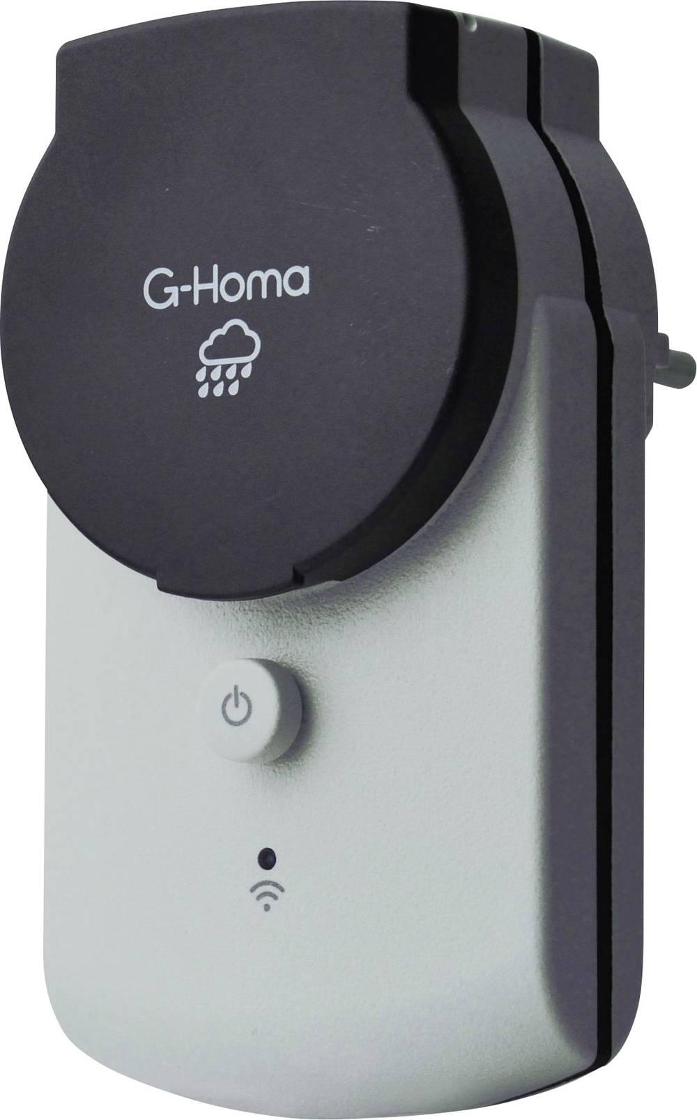 Wi-Fi Trådløs stikdåse Udendørs 3680 W G-Homa 7779
