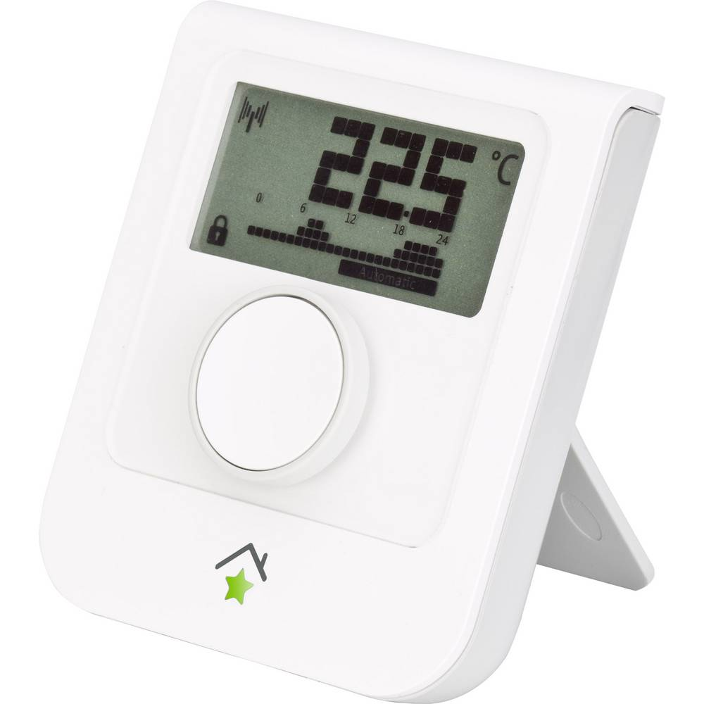 rwe smarthome 10122177 wireless thermostat max. range (open field