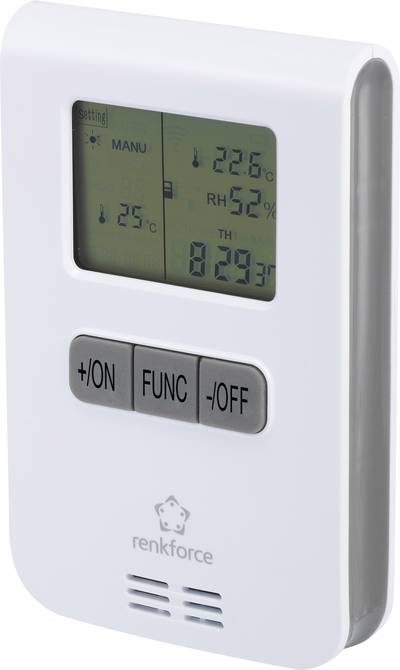 RS2W Wireless thermostat 1-channel Max. range (open field) 150 m