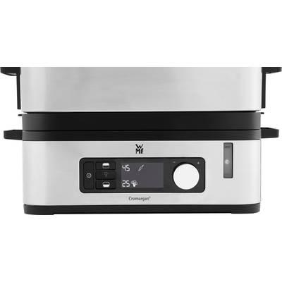 Steam cooker with glass cover WMF Vitalis E Steel