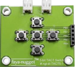 Fayalab Faya-Nugget 5 bit TACT stikalni modul primeren za (Arduino Boards): Arduino™, Fayaduino