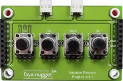 Fayalab Faya-Nugget modul z 4 variabilnimi rezistorji 801-NU0009 primeren za (Arduino Boards): Arduino™, Fayaduino