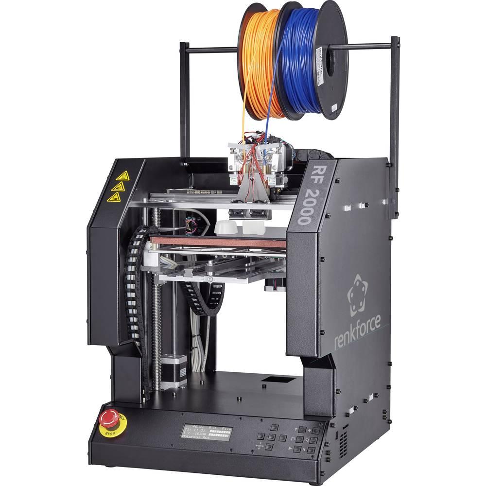 renkforce RF2000 3D pisač, dvostruki ugradbeni ekstruder