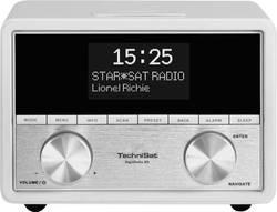 DAB+ Radijska budilka TechniSat DigitRadio 80 AUX, DAB+, UKV bela