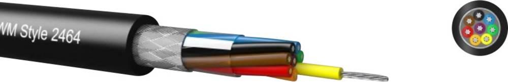 Krmilni kabel LiYCY 16 x 0.09 mm črne barve Kabeltronik 096162809 meterski