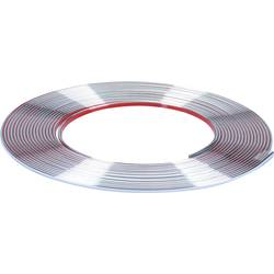 Herbert Richter Chrome trim strimmel 10 m x 3,5 mm (L x B) 10 m x 3.5 mm