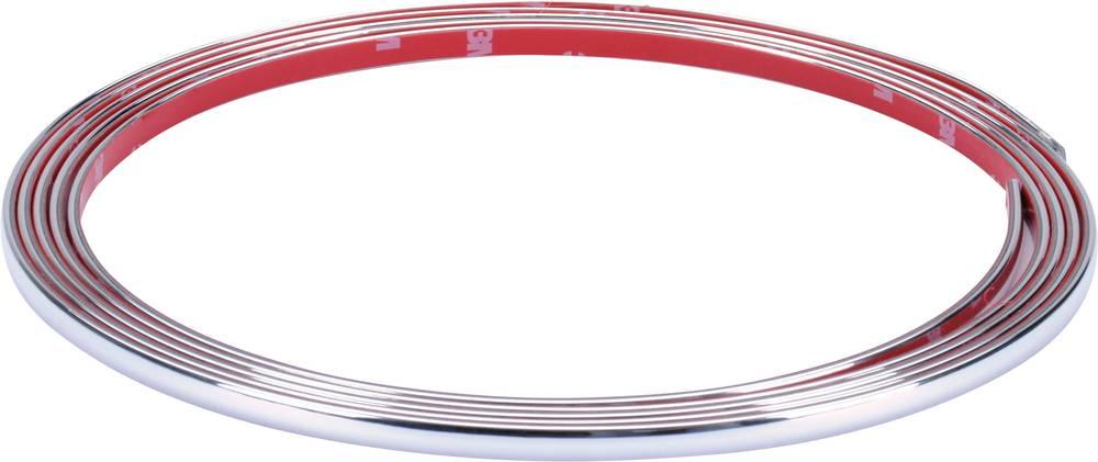 Herbert Richter Chrome trim 3m x 7 mm (L x B) 3 m x 7 mm