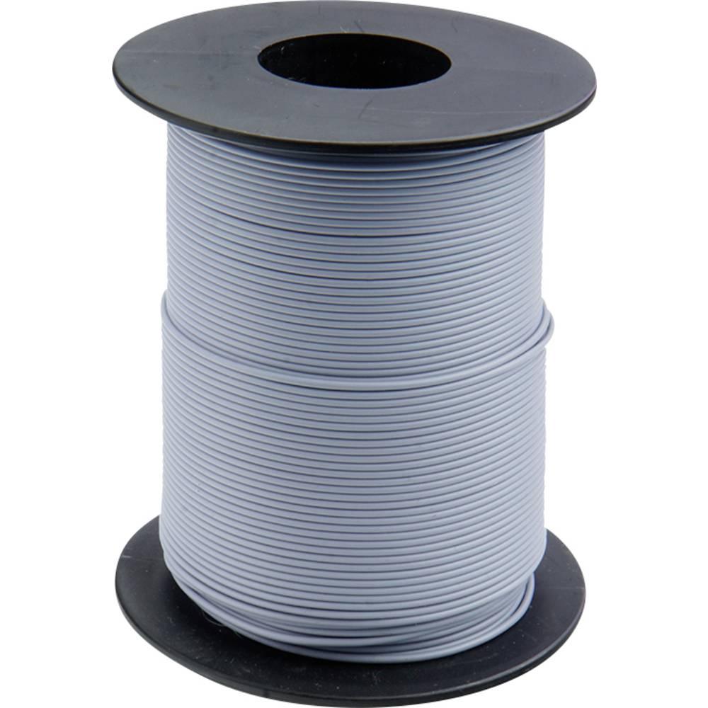 Finožični vodnik 1 x 0.14 mm sive barve BELI-BECO L118/100 sive barve 100 m