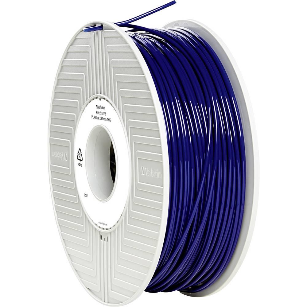 Filament Verbatim 55278 PLA 2.85 mm modre barve 1 kg