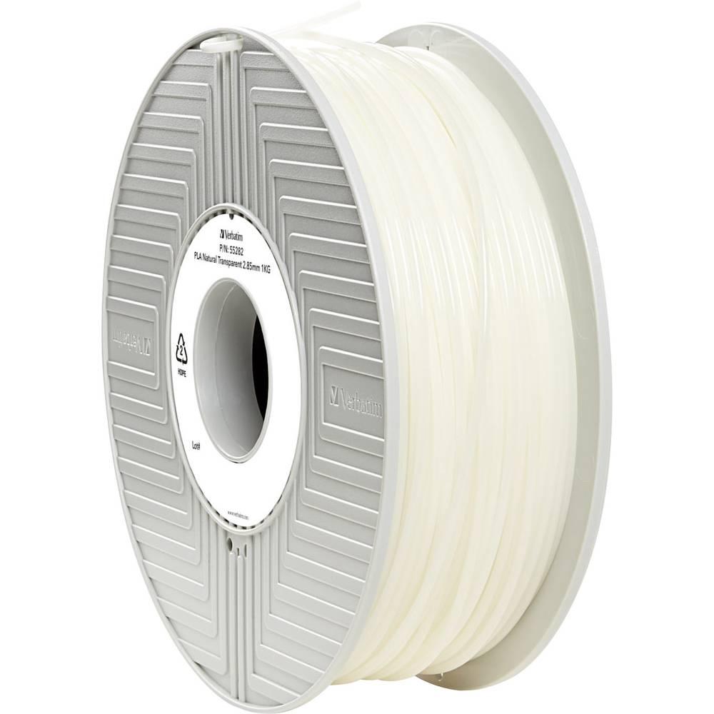 Filament Verbatim 55282 PLA 2.85 mm prozoren 1 kg