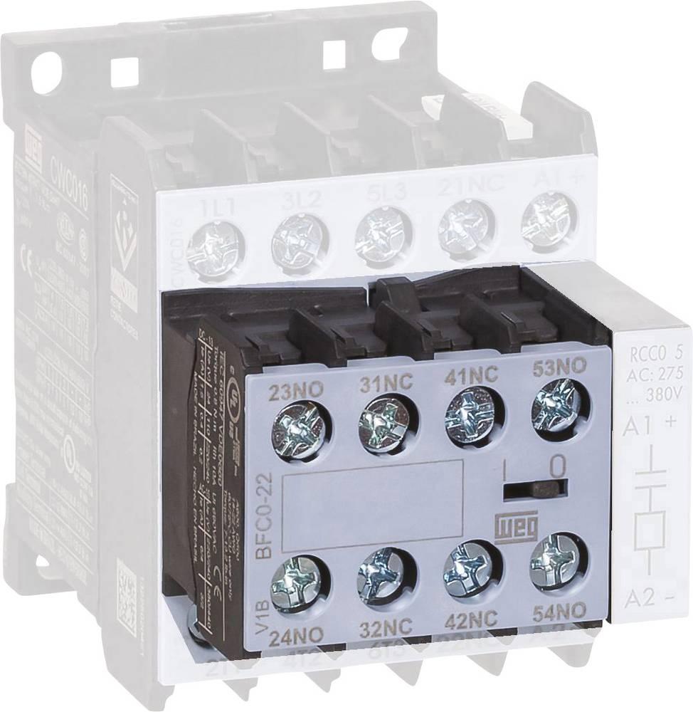 Hjælpekontaktblok 1 stk BFC0-11 WEG 6 A Passer til serie: Weg Serie CWC0 (3-polet)
