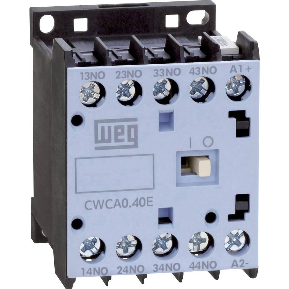 Kontaktor 1 stk CWCA0-40-00C03 WEG 4 x sluttekontakt 24 V/DC 10 A
