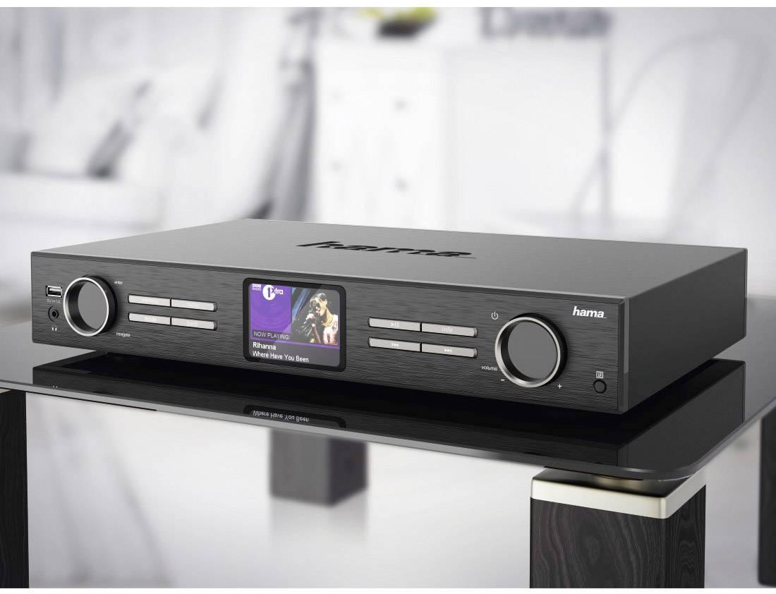 Hama DIT2000 Hi-Fi internet radio tuner Black DAB+ ...