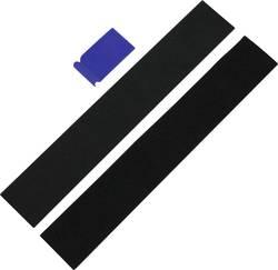Velcro-mærkningsholder (B x H) 49 cm x 8 cm IWH IWH Kennzeichenhalter Universal