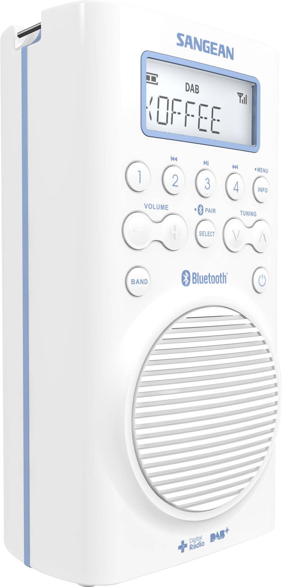 Sangean H205D Bathroom radio DAB+, FM Bluetooth waterproof ...