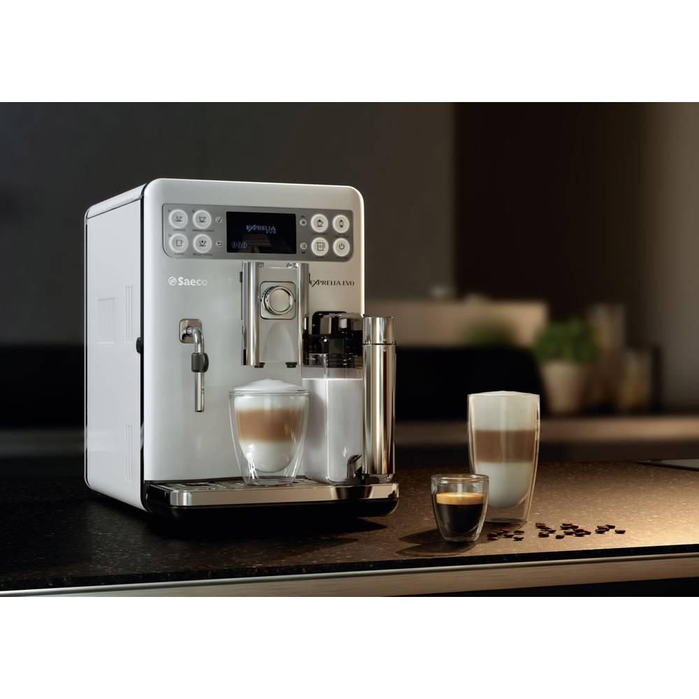 Fully automated coffee machine Saeco Exprelia Evo HD8859/01 White