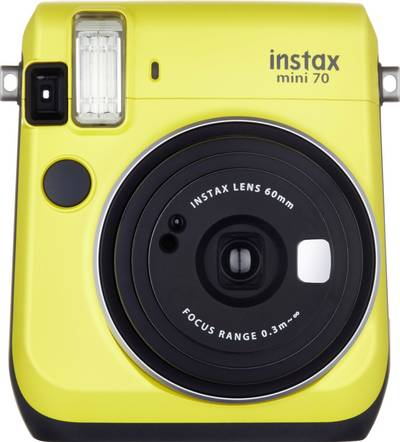 Image of Fujifilm Instax Mini 70 Yellow EX-D Instant camera Yellow