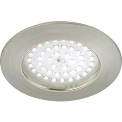 LED-udendørs indbygningsbelysning 10.5 W Varm hvid Briloner 7236-012 Nikkel (mat)