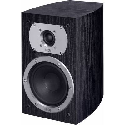 HECO Victa Prime 202 Bookshelf speaker Black 110 W 35 Hz – 40000 Hz 1 pair