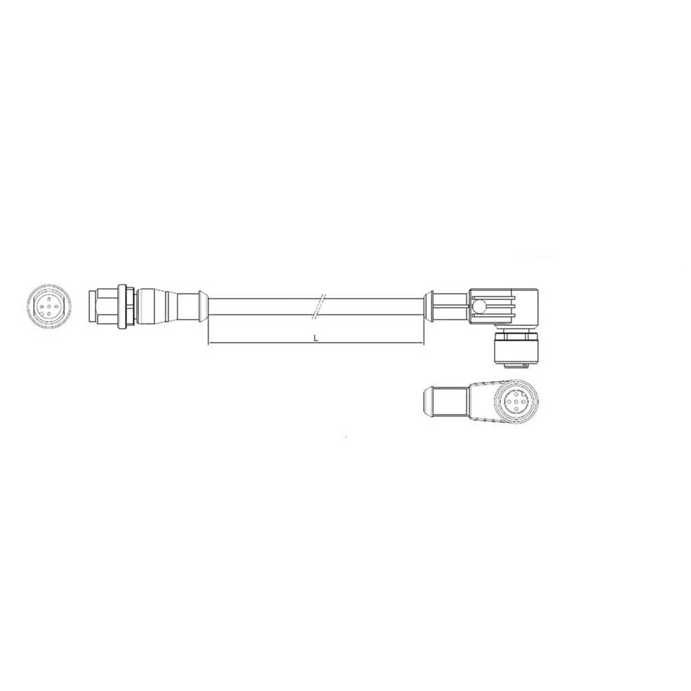 Sensor-, aktuator-stik, TE Connectivity 1-2273118-4 1 stk