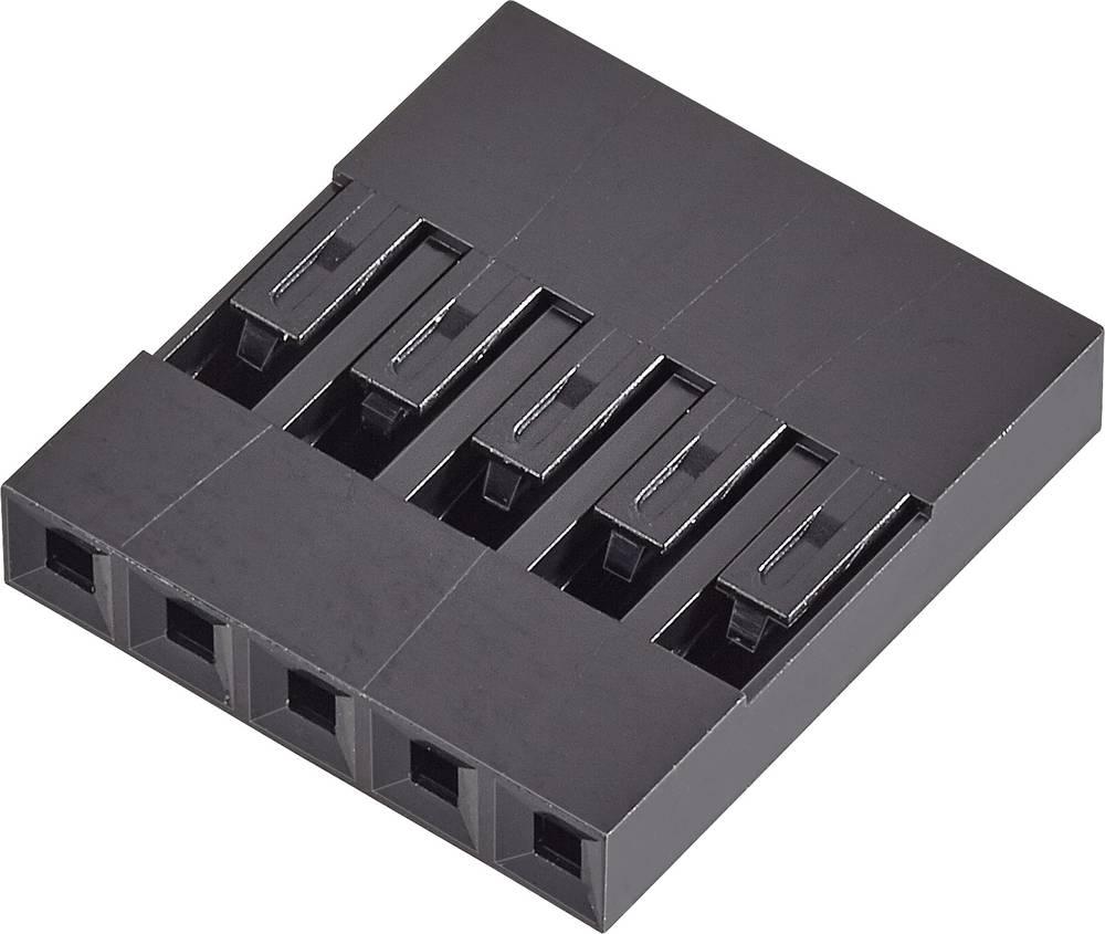Tilslutningskabinet-kabel Mini-PV Samlet antal poler 4 FCI 65039-033ELF Rastermål: 2.54 mm 1 stk