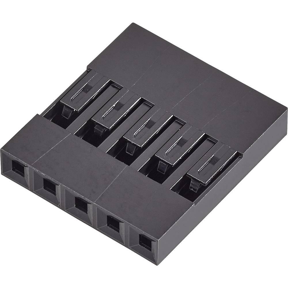 Ohišje kabelske vtičnice, skupno št. polov: 6 FCI 65039-031ELF razporeditev kontaktov: 2.54 mm 1 kos