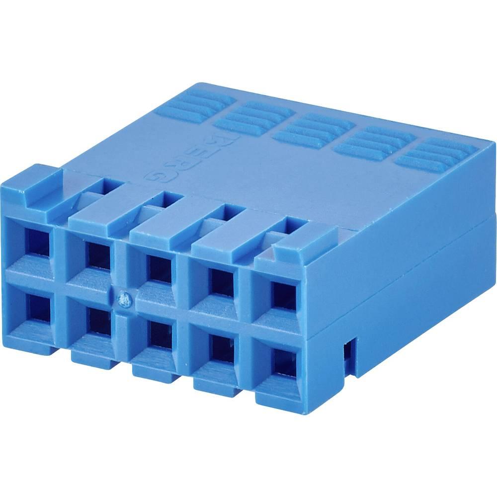Tilslutningskabinet-kabel Mini-PV Samlet antal poler 6 FCI 65239-003LF Rastermål: 2.54 mm 1 stk