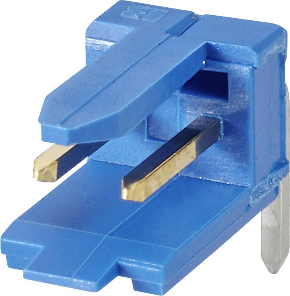 Stiftliste (standard) DUBOX Samlet antal poler 5 FCI 76382-305LF Rastermål: 2.54 mm 1 stk